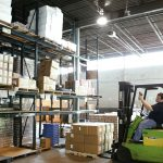 Inventory visibility in warehouses
